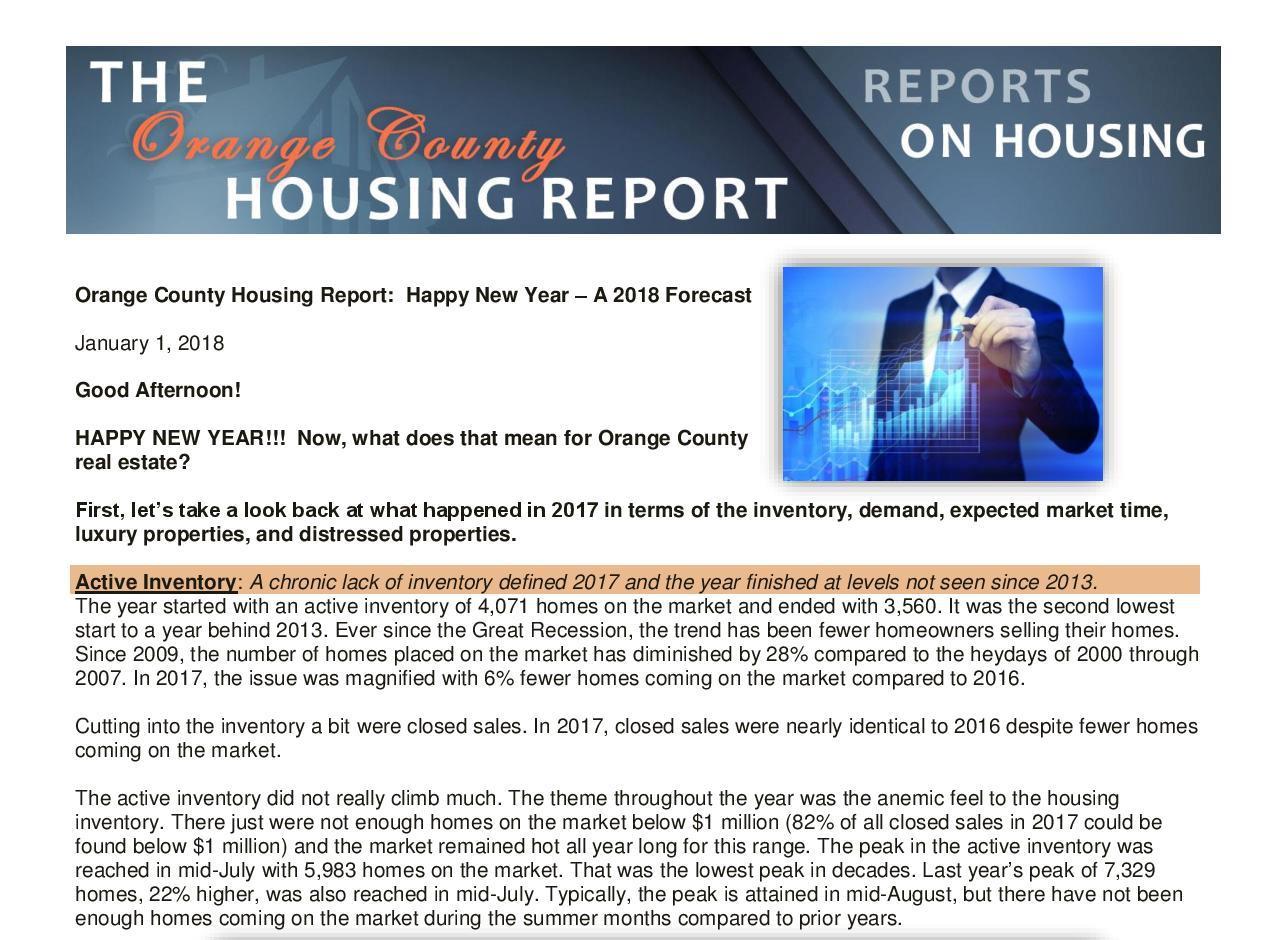 OC Housing Report - OC Lifestyle — OC Lifestyle